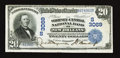 National Bank Notes:Louisiana, New Orleans, LA - $20 1902 Date Back Fr. 643 The Whitney-Central NB Ch. # (S)3069. ...