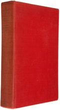 Books:Americana & American History, Walter Prescott Webb. The Texas Rangers. Boston: HoughtonMifflin, [1935]. First edition. Octavo. Publisher's cloth....