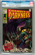 Silver Age (1956-1969):Horror, Chamber of Darkness #1 Savannah pedigree (Marvel, 1969) CGC NM+ 9.6Cream to off-white pages....