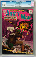 Silver Age (1956-1969):War, Our Army at War #130 Savannah pedigree (DC, 1963) CGC VF/NM 9.0 Cream to off-white pages....