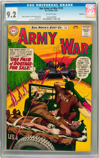 Our Army at War #131 Savannah pedigree (DC, 1963) CGC NM- 9.2 Off-white pages