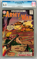 Silver Age (1956-1969):War, Our Army at War #133 Savannah pedigree (DC, 1963) CGC VF+ 8.5 Cream to off-white pages....