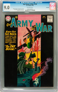 Our Army at War #134 Savannah pedigree (DC, 1963) CGC VF/NM 9.0 Off-white pages