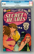 Bronze Age (1970-1979):Romance, Secret Hearts #143 Savannah pedigree (DC, 1970) CGC NM 9.4 Whitepages....