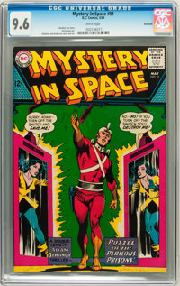Mystery in Space #91 Savannah pedigree (DC, 1964) CGC NM+ 9.6 White pages