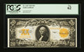 Large Size:Gold Certificates, Fr. 1187 $20 1922 Gold Certificate PCGS New 62.. ...