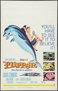 "Movie Posters:Adventure, Flipper Lot (MGM, 1963). Window Cards (2) (14"" X 22""). Adventure..... (Total: 2 Items)"