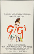 "Movie Posters:Musical, Gigi (MGM, 1958). Window Card (14"" X 22""). Musical.. ..."
