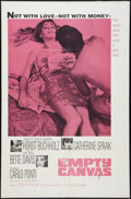 """Movie Posters:Drama, The Empty Canvas Lot (Embassy, 1964). One Sheets (2) (27"""" X 41""""). Drama.. ... (Total: 2 Items)"""