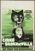 "Movie Posters:Mystery, The Hound of the Baskervilles (United Artists, 1959). Belgian (14""X 20.75""). . Mystery.. ..."