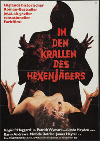 "The Blood on Satan's Claw (Cannon, 1971). German A1 (23"" X 33""). Horror"