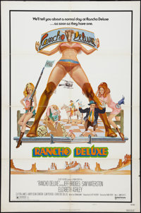 "Rancho Deluxe (United Artists, 1975). One Sheet (27"" X 41""). Style A. Comedy"