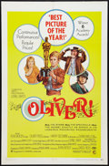 "Movie Posters:Academy Award Winners, Oliver! (Columbia, 1968). One Sheet (27"" X 41""). Academy AwardStyle. Academy Award Winners.. ..."