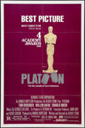 "Movie Posters:War, Platoon (Orion, 1986). One Sheets (2) (27"" X 41""). Academy Awardsand Review Styles. War.. ... (Total: 2 Items)"