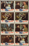"Movie Posters:Sports, The Iron Major (RKO, 1943). Lobby Cards (8) (11"" X 14""). Sports.. ... (Total: 8 Items)"