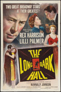 """Movie Posters:Crime, The Long Dark Hall (Eagle Lion, 1951). One Sheet (27"""" X 41"""").Crime.. ..."""