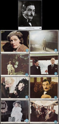 """Movie Posters:Mystery, Murder on the Orient Express (Paramount, 1974). US Mini Lobby CardSet of 8 (8"""" X 10""""), French Lobby Cards (13) (9.5"""" X 12"""")...(Total: 22 Items)"""