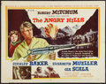 "Movie Posters:War, The Angry Hills (MGM, 1959). Half Sheet (22"" X 28""). War.. ..."