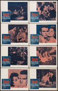 """Movie Posters:Drama, A Place In The Sun (Paramount, R-1959). Lobby Card Set of 8 (11"""" X 14""""). Drama.. ... (Total: 8 Items)"""
