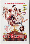 """Movie Posters:Sexploitation, The Sexpert Lot (Indiepix, 1972). One Sheets (2) (28"""" X 41.5"""". and24"""" X 36""""). Sexploitation.. ... (Total: 2 Items)"""