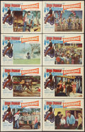 """Movie Posters:Elvis Presley, Roustabout (Paramount, 1964). Lobby Card Set of 8 (11"""" X 14"""").Elvis Presley.. ... (Total: 8 Items)"""