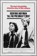 "Movie Posters:Drama, All the President's Men (Warner Brothers, 1976). One Sheet (27"" X 41"") and Lobby Card Set of 13 (11' X 14""). Drama.. ... (Total: 14 Items)"