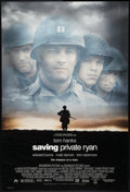 "Movie Posters:War, Saving Private Ryan (Paramount, 1998). One Sheets (2) (27"" X 40"").DS Advance and Regular. War.. ... (Total: 2 Items)"