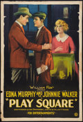 "Movie Posters:Crime, Play Square (Fox, 1921). One Sheet (27"" X 41""). Crime.. ..."