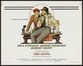 "Movie Posters:Crime, The Sting (Universal, 1973). Half Sheet (22"" X 28""). Crime.. ..."