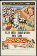 "Movie Posters:Adventure, Zarak (Columbia, 1956). One Sheet (27"" X 41"") and Lobby Cards (8)(11"" X 14""). Adventure.. ... (Total: 9 Items)"