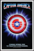 """Movie Posters:Action, Captain America (Columbia/Tristar, 1991). One Sheet (27"""" X 41"""").Advance. Action.. ..."""