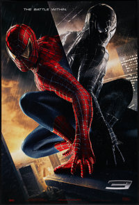 """Spider-Man 3 (Columbia, 2007). One Sheet (26.75"""" X 39.75""""). SS Advance. Action"""