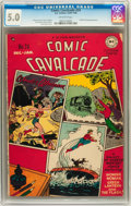 Golden Age (1938-1955):Superhero, Comic Cavalcade #24 (DC, 1947) CGC VG/FN 5.0 Off-white pages....