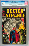 Silver Age (1956-1969):Superhero, Doctor Strange #169 (Marvel, 1968) CGC NM 9.4 White pages....