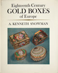 Silver Holloware, French:Holloware, A. KENNETH SNOWMAN, EIGHTEENTH CENTURY GOLD BOXES OF EUROPE.Boston Book and Art Shop, Boston, Massachusetts, 1966. ...