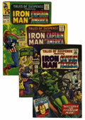 Silver Age (1956-1969):Superhero, Tales of Suspense Group (Marvel, 1966-68) Condition: Average FN/VF.... (Total: 13 Comic Books)
