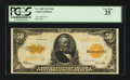 Large Size:Gold Certificates, Fr. 1200 $50 1922 Gold Certificate. PCGS Very Fine 25.. ...