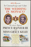 "Movie Posters:Documentary, The Wedding in Monaco (MGM, 1956). One Sheet (27"" X 41""). Documentary.. ..."