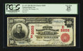 National Bank Notes:Pennsylvania, Bangor, PA - $10 1902 Red Seal Fr. 613 The First NB Ch. # (E)2659. ...
