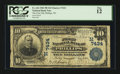 National Bank Notes:Wisconsin, Phillips, WI - $10 1902 Plain Back Fr. 624 The First NB Ch. # (M)7434. ...