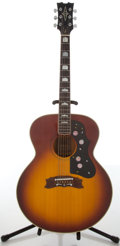 Musical Instruments:Acoustic Guitars, Circa 1980s Alvarez 5052 Jumbo Sunburst Acoustic Guitar, #40952....