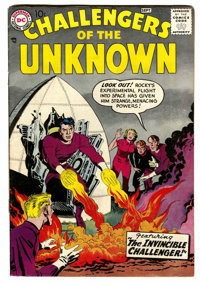 Challengers of the Unknown #3 (DC, 1958) Condition: Apparent FN-