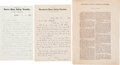 Autographs:Celebrities, Henry Blackwell and Lucy Stone Autograph Letters Signed With aHenry Blackwell Authored Woman's Suffrage Imprint....