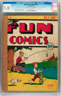Platinum Age (1897-1937):Miscellaneous, More Fun Comics #22 (DC, 1937) CGC FR 1.0 Cream to off-white pages....