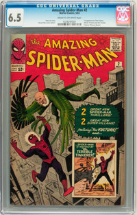 The Amazing Spider-Man #2 (Marvel, 1963) CGC FN+ 6.5 Cream to off-white pages