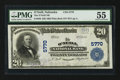 National Bank Notes:Nebraska, O'Neill, NE - $20 1902 Plain Back Fr. 659 The O'Neill NB Ch. # 5770. ...
