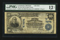 National Bank Notes:Montana, Lewistown, MT - $10 1902 Plain Back Fr. 624 The First NB of Fergus County in Lewistown Ch. # (W)7274. ...