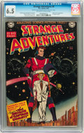 Golden Age (1938-1955):Science Fiction, Strange Adventures #9 (DC, 1951) CGC FN+ 6.5 Off-white to whitepages. ...