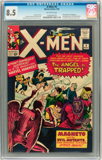 X-Men #5 (Marvel, 1964) CGC VF+ 8.5 Off-white pages