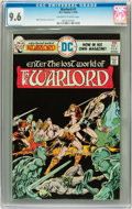 Bronze Age (1970-1979):Miscellaneous, Warlord #1 (DC, 1976) CGC NM+ 9.6 Off-white to white pages....